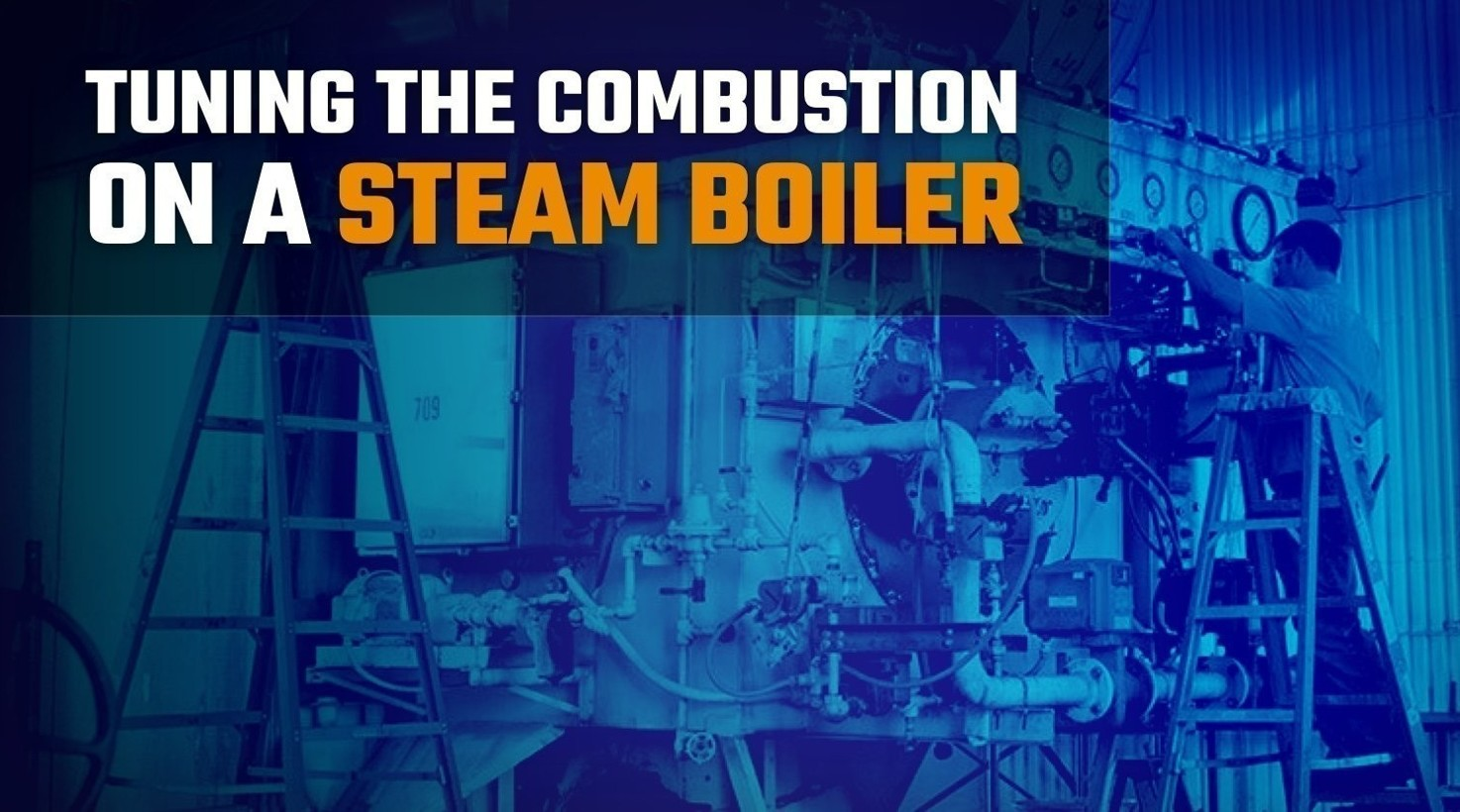 Tuning the Combustion on a Steam Boiler