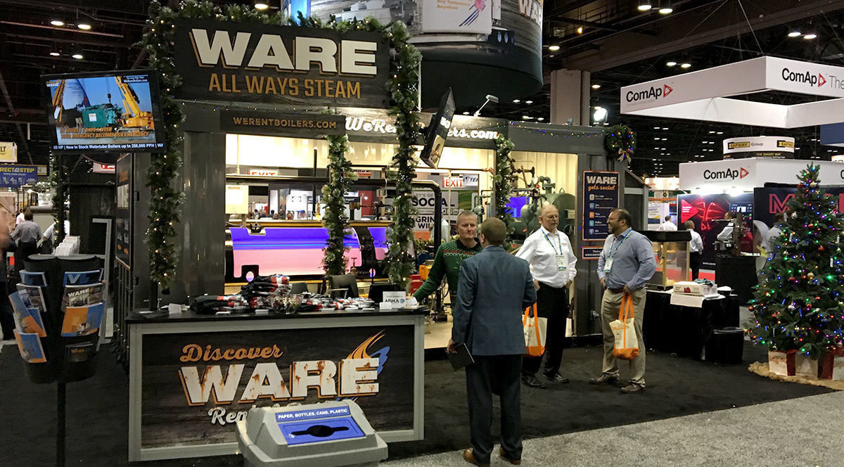 Makin' Steam at PowerGen 2017