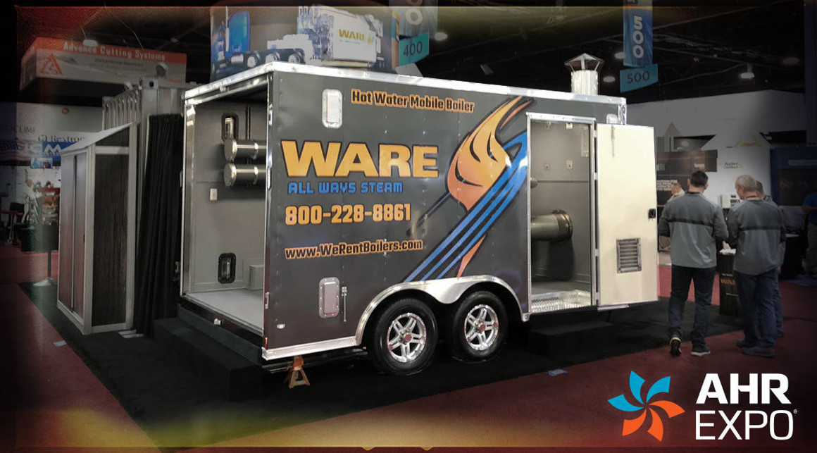 WARE Heats Up Atlanta AHR Expo
