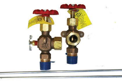 Boiler Sight Glass and Valves