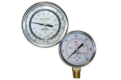 Gauges and Thermometers