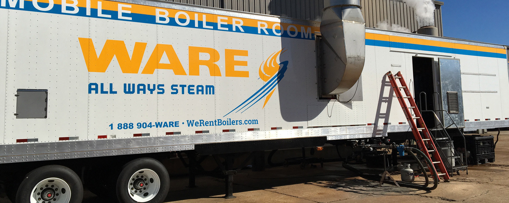 Mobile Boiler Rooms