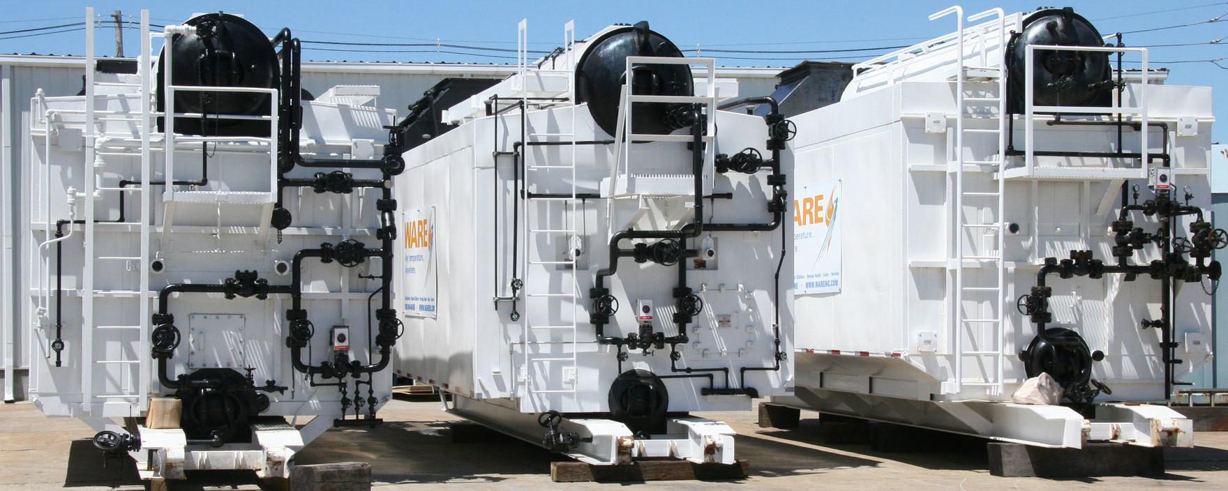 Skid-Mounted Boiler Rentals